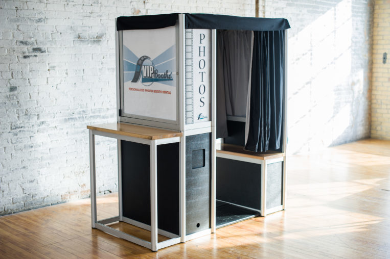 Vintage & Open Photo Booth Rental in Minneapolis | VIP Booths